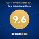 Guest review Awards 2017 Booking Roma Casa Sotgiu
